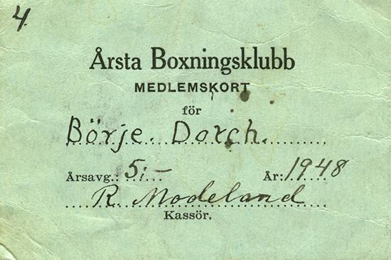 93938f1f513e Börje började boxas i Årsta Boxningsklubb för en tränare som hette  Modeland. Börje tyckte att han var en duktig tränare som gav honom en  ganska bra ...